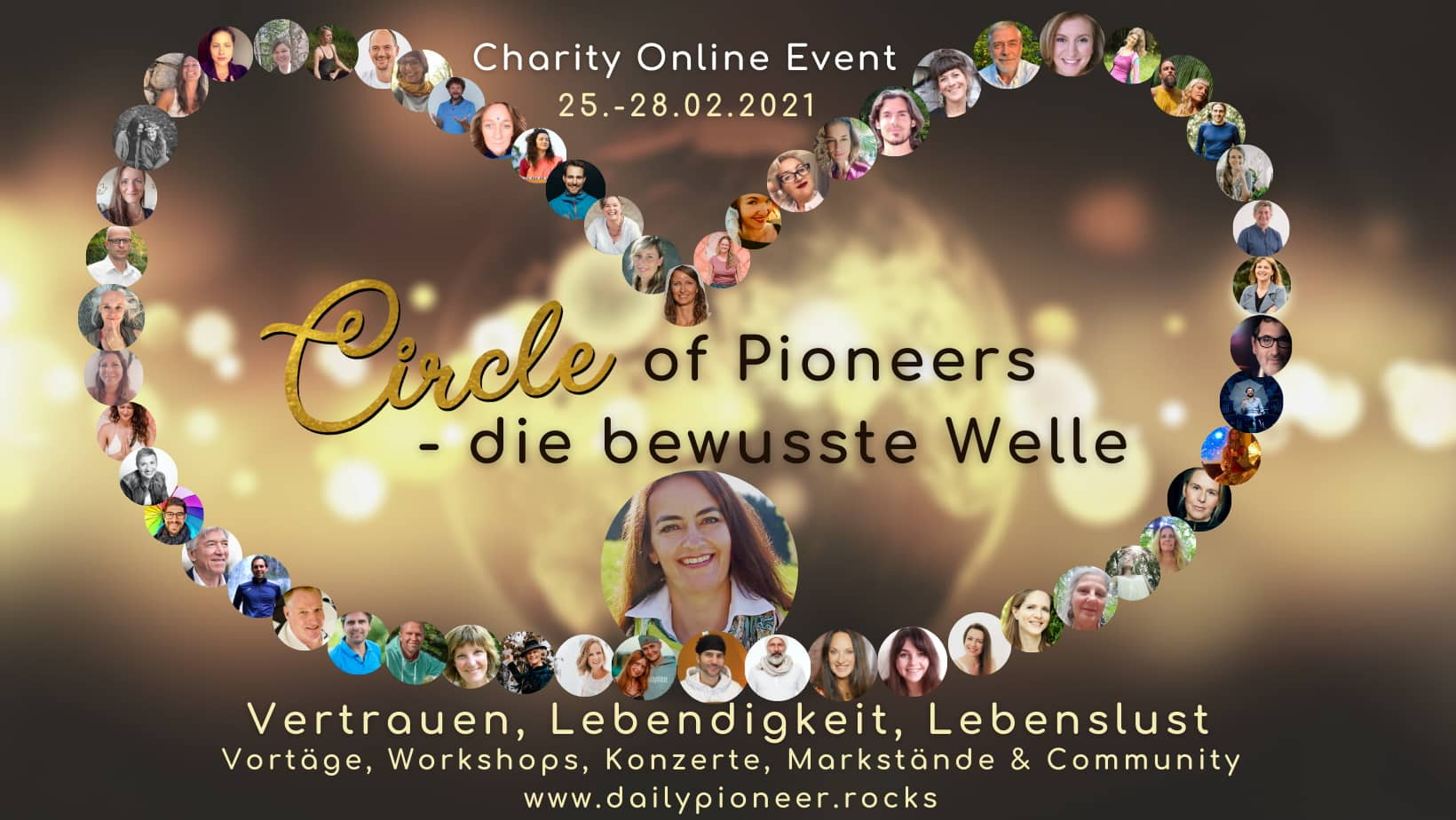 Circle of Pioneers - charity Event mit celine von Knobelsdorff
